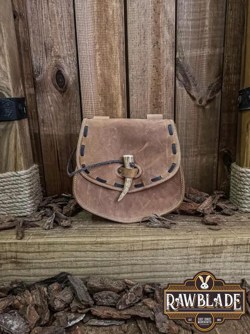 Cymerian Leather Bag - Light Brown
