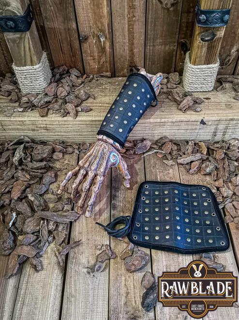 Brawley Studded Bracelets - Black