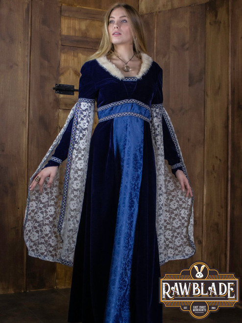 Aura, Lordly dress - Blue