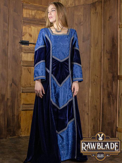 Castilian Dress - Blue