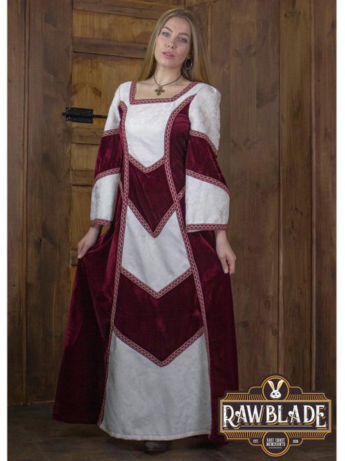 Castilian Dress - Red