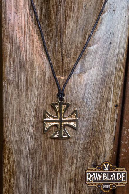Patte Templar Cross - Gold