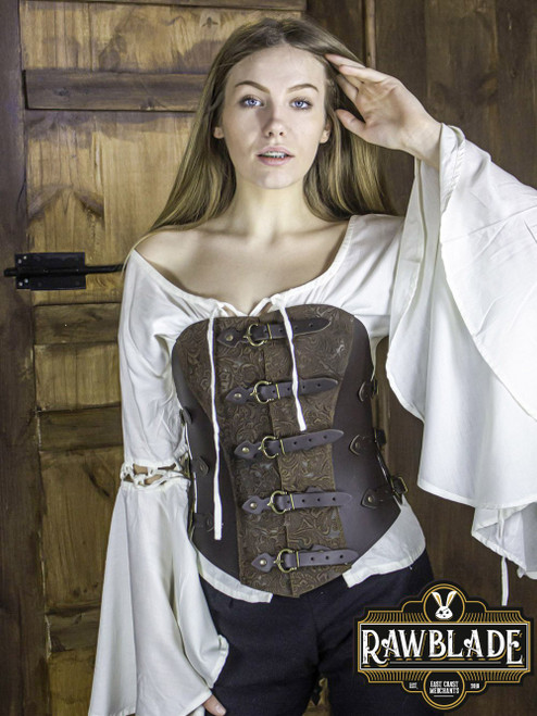 Grace Bodice Deluxe - Brown