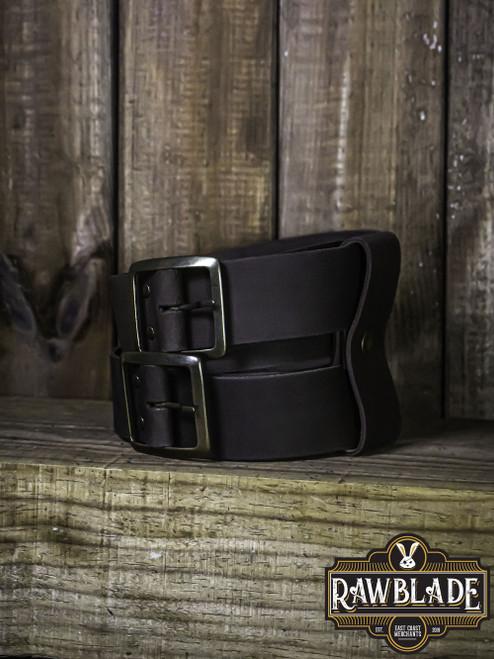 Beligor Double Belt - Brown