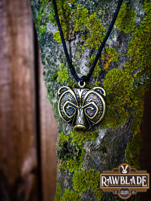 Bear Clan Pendant - Gold by [product_brand] for €9.7 | Shop on Avothea Store