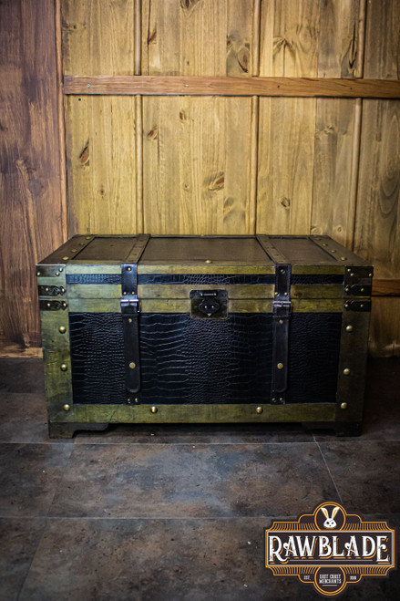 Leather Reinforced Chest - Large