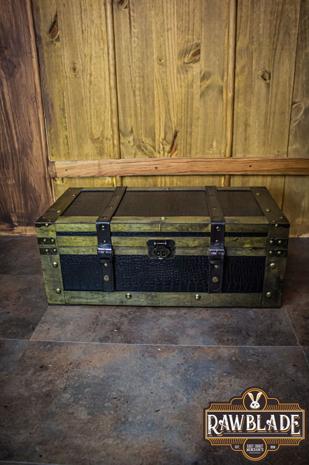 Leather Reinforced Chest - Small