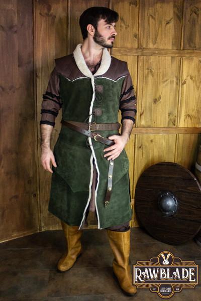 Dimitru Winter Coat - Green