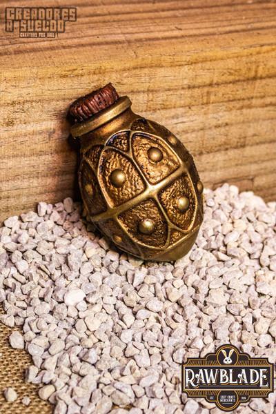 Alchemical Crock - Gold