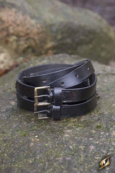 Twin Belt - Black - 120 cm