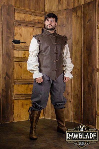 Diego Leather Jerkin