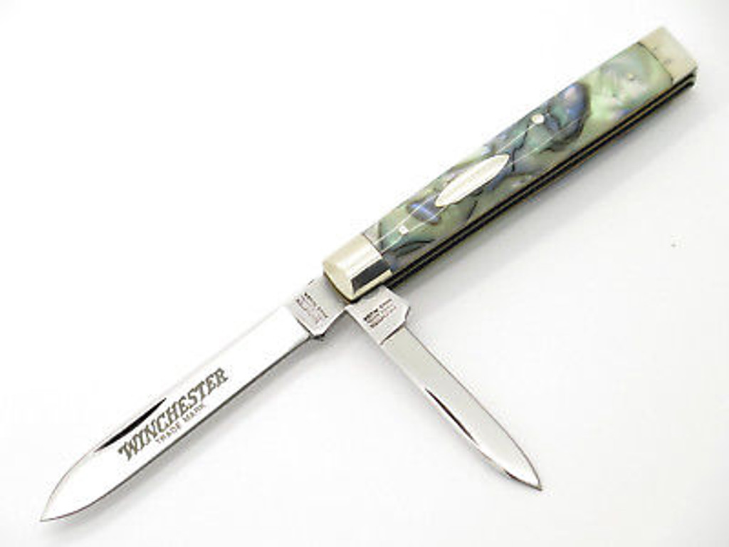 1992 WINCHESTER 2078 CLASSIC PAUA DOCTOR PHYSICIAN FOLDING POCKET KNIFE