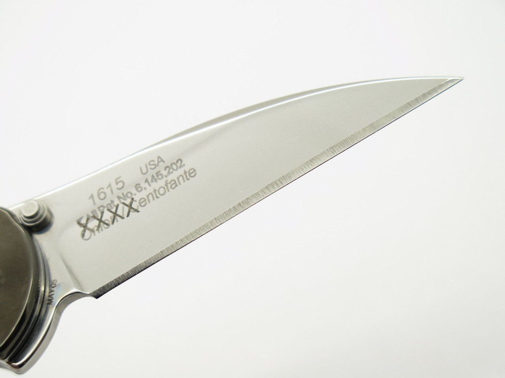 2005 KERSHAW 1615 KEN ONION FRANK CENTOFANTE FOLDING POCKET KNIFE *BLEMISH
