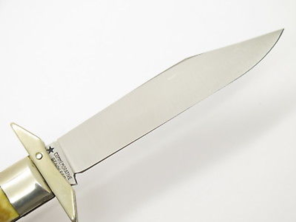 1976 BICENTENNIAL ROB. KLAAS STAG CHEETAH SWING GUARD FOLDING POCKET KNIFE