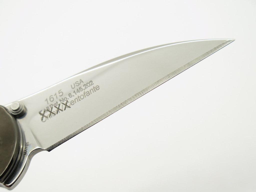 2005 KERSHAW 1615 KEN ONION SIGNATURE FRANK CENTOFANTE FOLDING POCKET KNIFE