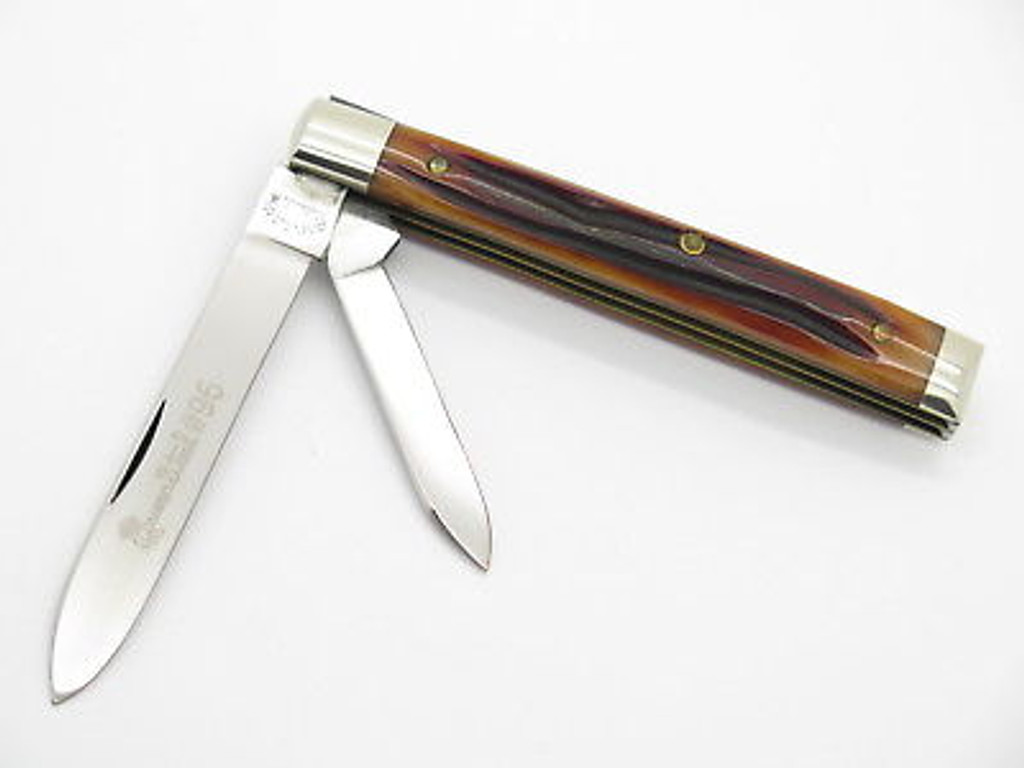 1998 QUEEN #96 CLASSIC WINTERBOTTOM DOCTOR PHYSICIAN FOLDING KNIFE & CASE