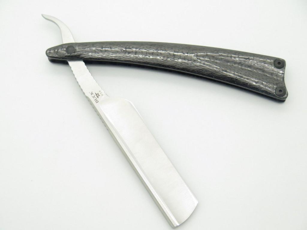 BUCK 039 SALIENT STRAIGHT RAZOR FOLDING KNIFE LEGACY COLLECTION CUSTOM LIMITED