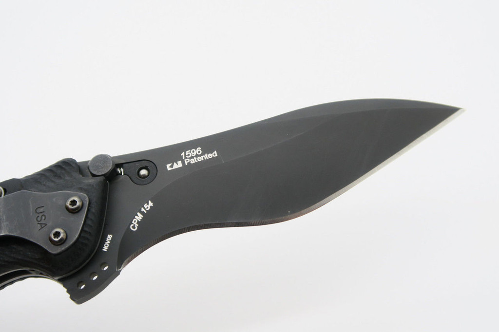 2005 KERSHAW USA SPEC BUMP 1596 BLACK CPM154 KEN ONION FOLDING POCKET KNIFE