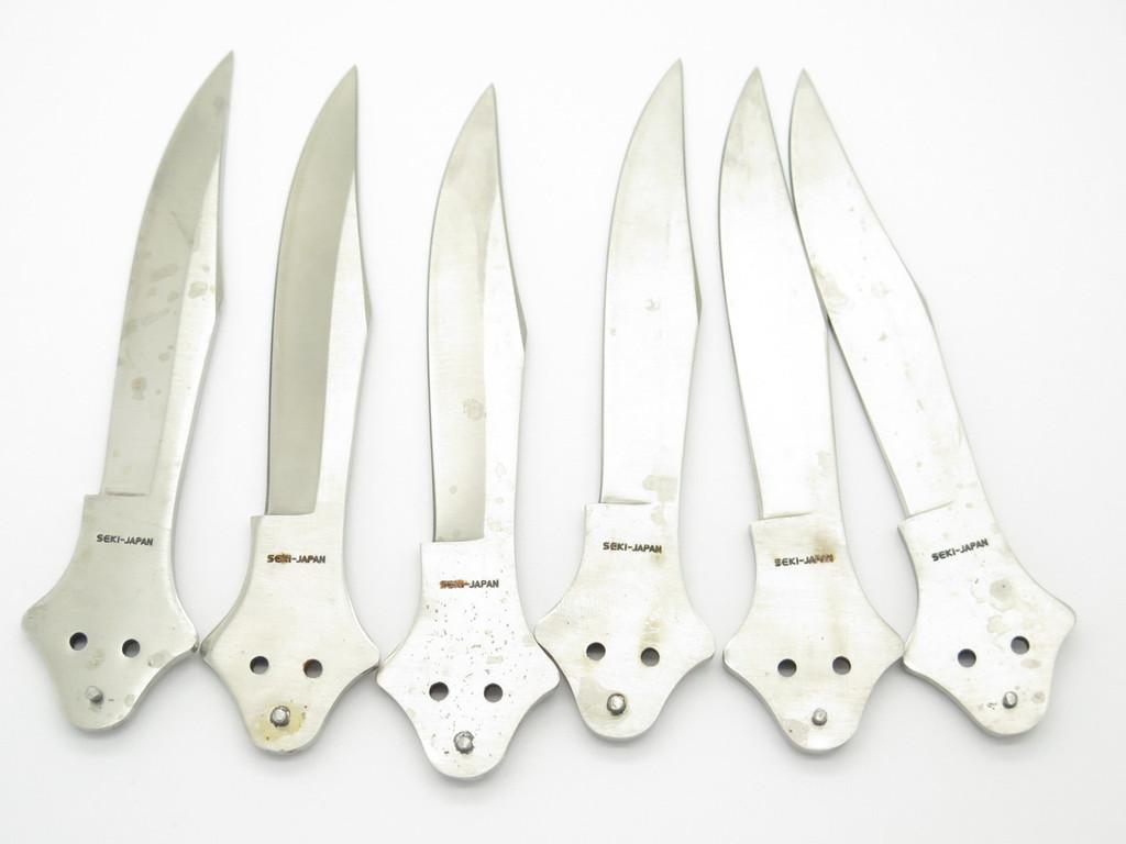VINTAGE SEKI JAPAN KNIFE MAKING KIT VALOR BUTTERFLY BALISONG FOLDING POCKET KNIFE