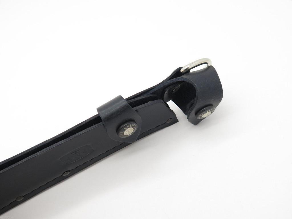 "BUCK 108 FROE 9.5"" SURVIVAL MACHETE LEATHER FIXED BLADE KNIFE SHEATH Factory 2nd"