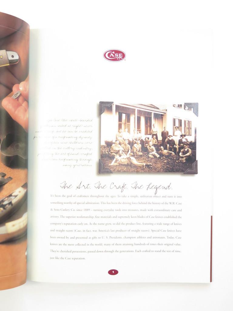 2002 CASE XX DEALER KNIFE CATALOG PRICE LIST BOOK FIXED FOLDING POCKET KNIFE
