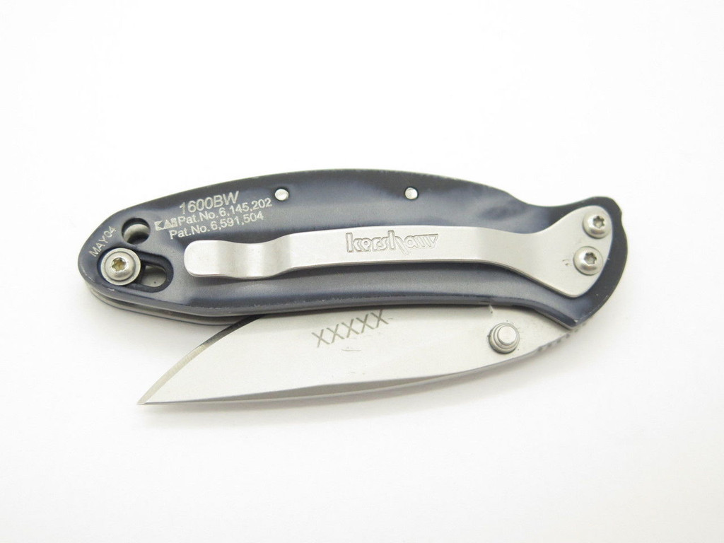 *NOT Assisted* 2004 KERSHAW 1600BW 1600 CHIVE ONION FOLDING POCKET KNIFE