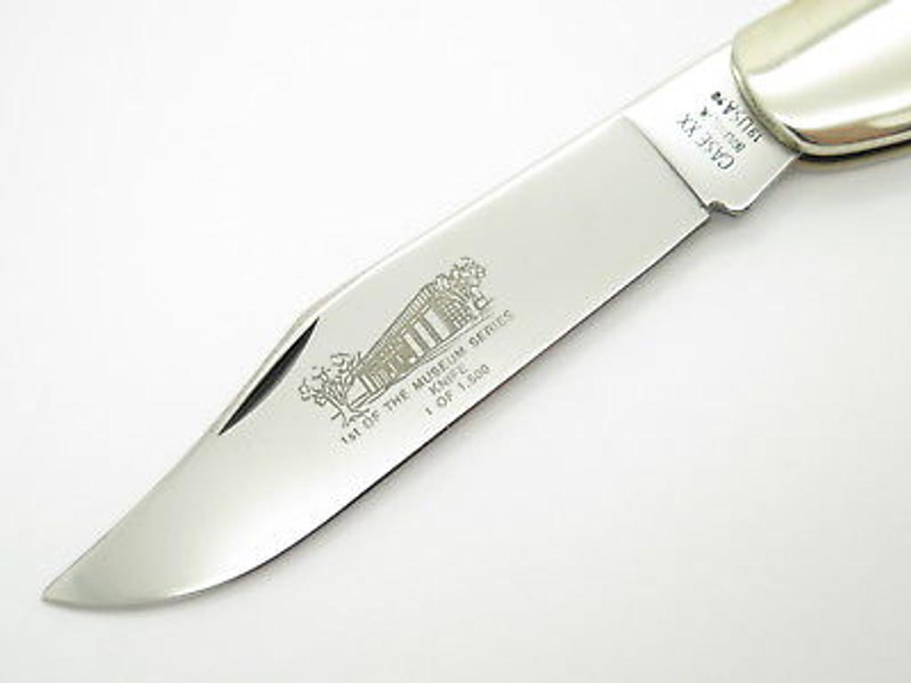 1990 CASE XX 61050 COKE BOTTLE FOLDING HUNTER KNIFE NKCA MUSEUM LIMITED