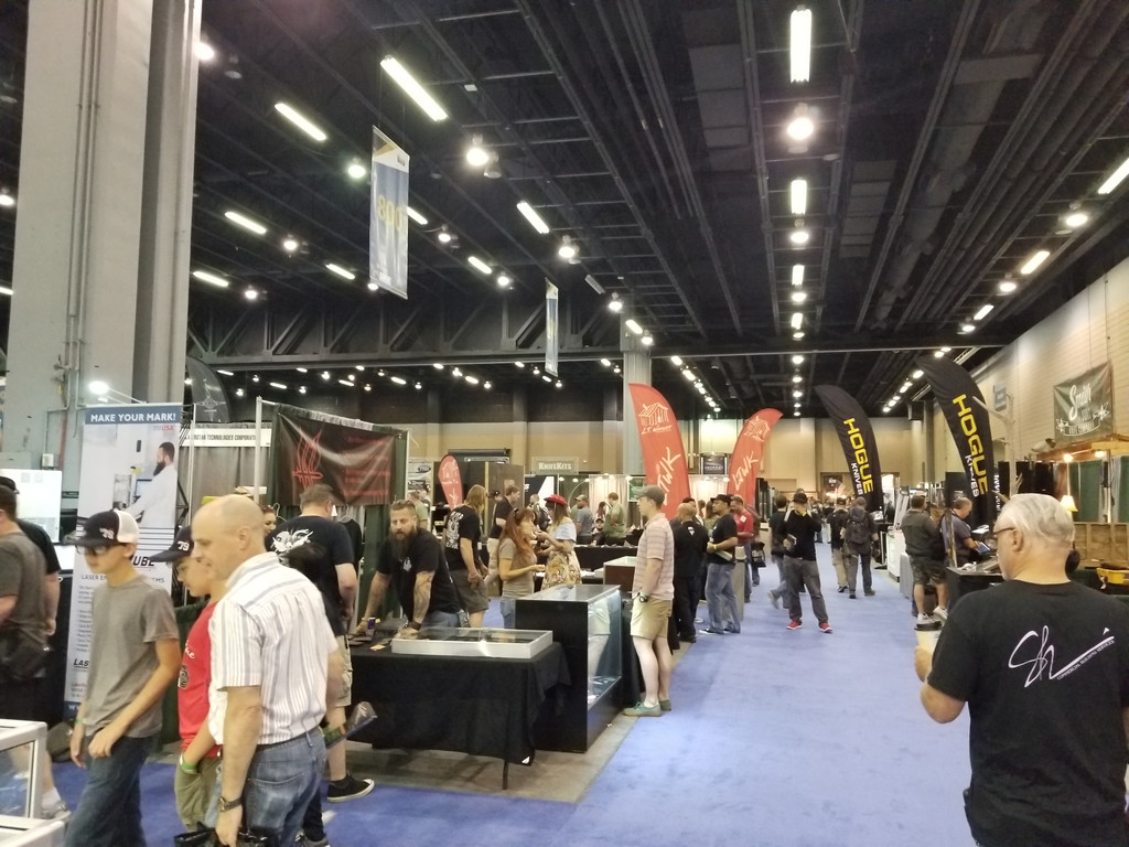 ePragueKnives was at Blade Show 2018 in Atlanta, Georgia