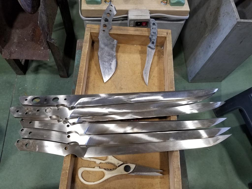 Visit to knifemakers of Seki: Kiku Matsuda, Seizo Imai