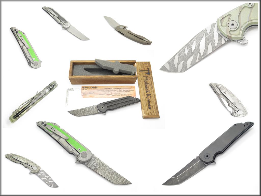 Jake Hoback Knives - Custom made in the USA