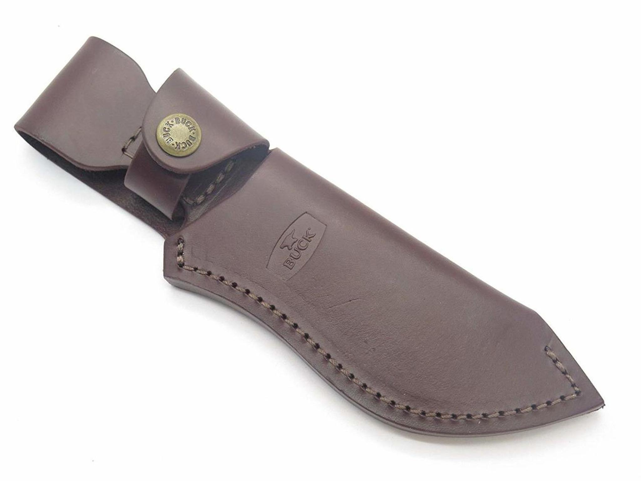 Buck 488 087 085 Ergo Hunter Pro Burgundy Leather Fixed Blade Knife Sheath Eprague Llc