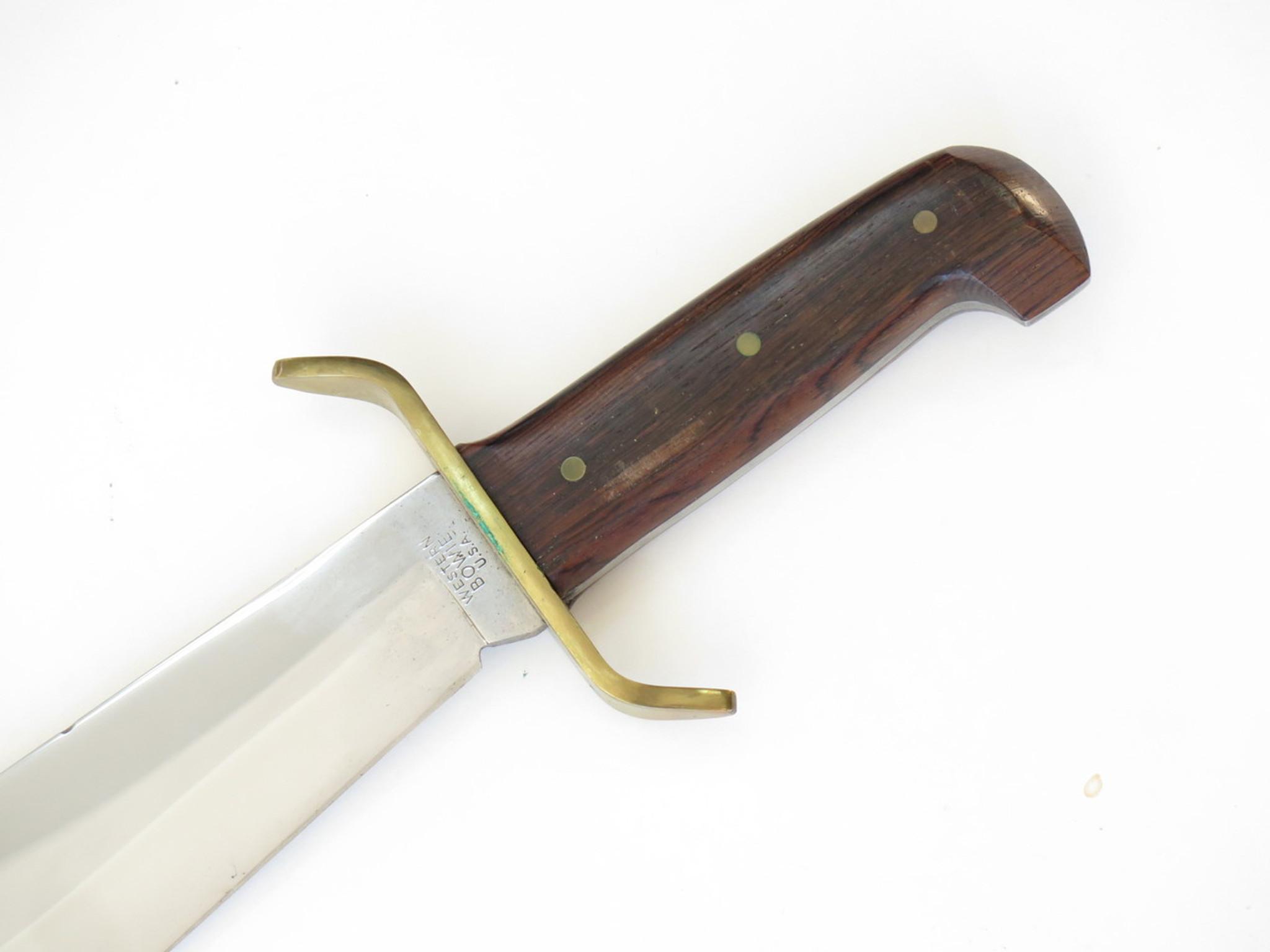 western bowie knife history