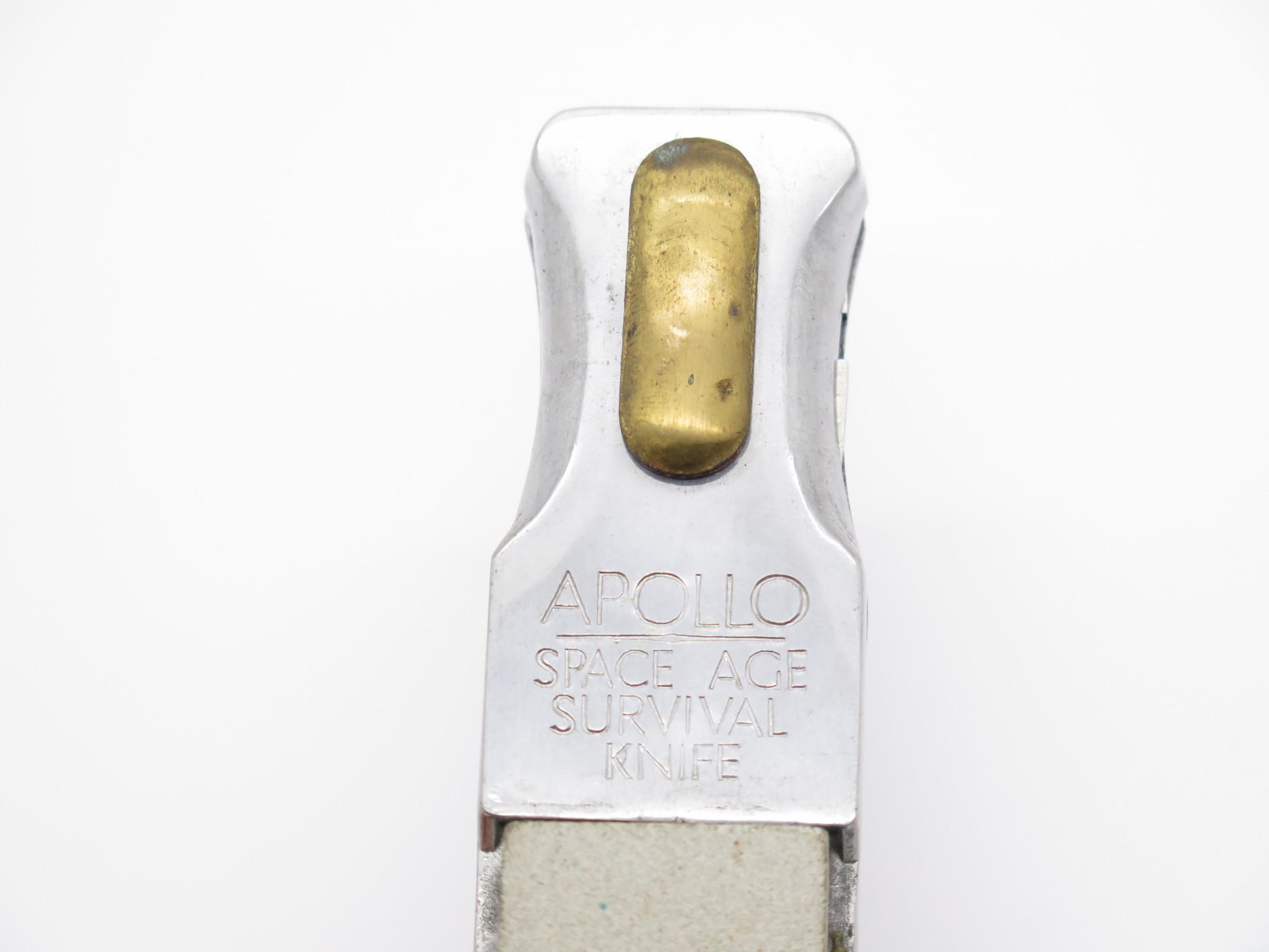 VTG '60s APOLLO SPACE AGE SURVIVAL KNIFE ACE-PAL-O SEKI JAPAN FOLDING MULTI  TOOL