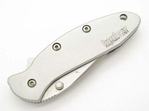 2005 KERSHAW 1600 STAINLESS CHIVE ONION SMALL FOLDING POCKET KNIFE