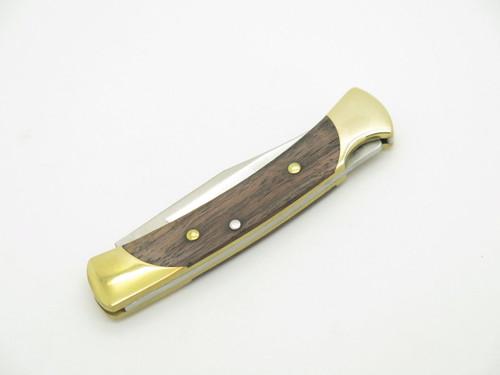 BUCK 0055BRS 055 WALNUT LOCKBACK POCKET KNIFE THE 55 SMALL 110 FOLDING HUNTER FB