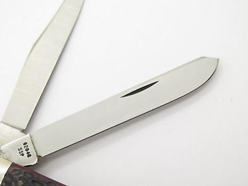 Vtg 1980 Case XX 62048 Slim Line Trapper Delrin Folding Pocket Knife