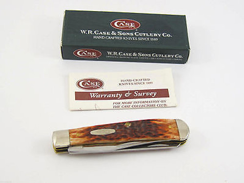 2003 Case XX 6254 #03745 Chestnut Trapper Folding Pocket Knife Limited