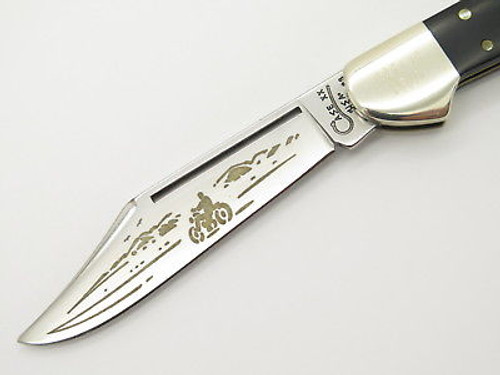 1998 Case XX 21549 Motorcycle Biker Copperlock Folding Pocket Knife