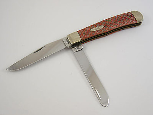 2005 Case XX 6254 SS Chexx Bone Trapper Folding Pocket Knife