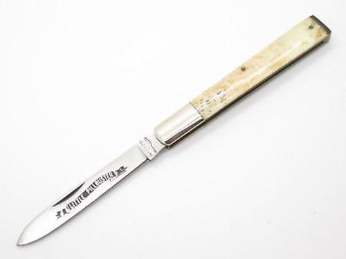 VINTAGE PARKER CUT CO SEKI JAPAN SMOOTH BONE DOCTOR PHYSICIAN FOLDING POCKET KNIFE