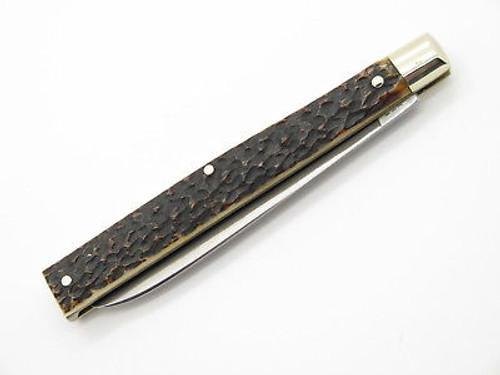 Vtg 1996 Bulldog Brand Solingen Jigged Bone Doctor Folding Pocket Knife