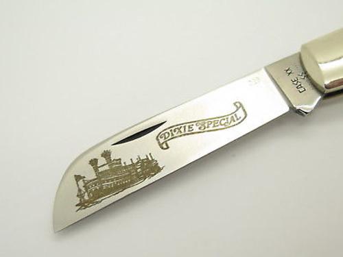 Vtg 1980 Case XX 1199 Whaler Dixie Special Boat Folding Pocket Knife Wood