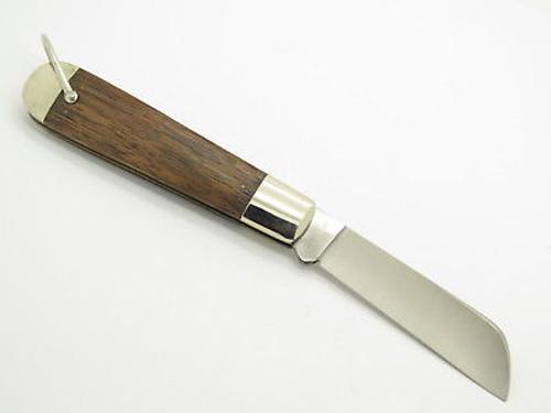 Vtg 1980 Case XX 1199 Whaler Whale Folding Pocket Rope Knife Wood
