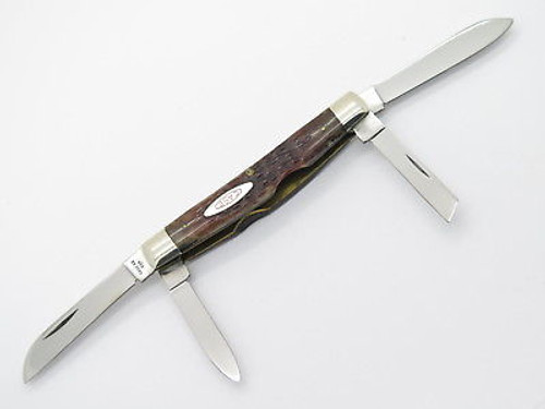 Vtg 1978 1980 Transition Case XX 64052 Congress Bone Folding Pocket Knife