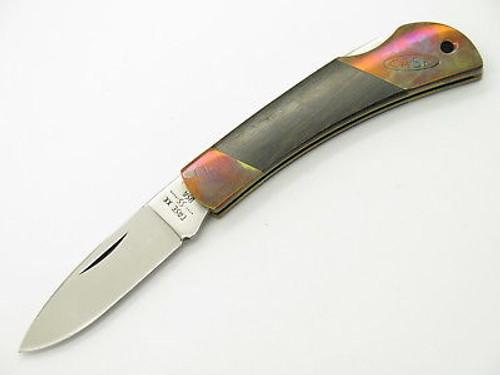 Vtg 1980 Case XX 061051 Small Wood Handle Folding Hunter Lockback Pocket Knife