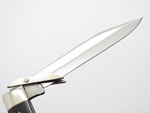Vtg 1975 Case XX Bone 6111 1/2 Cheetah Swing Guard Folding Pocket Knife
