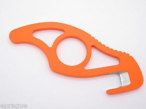 Buck Knives 499 499ORG Hunter Orange Traction Hunting Paklite Skinner Guthook