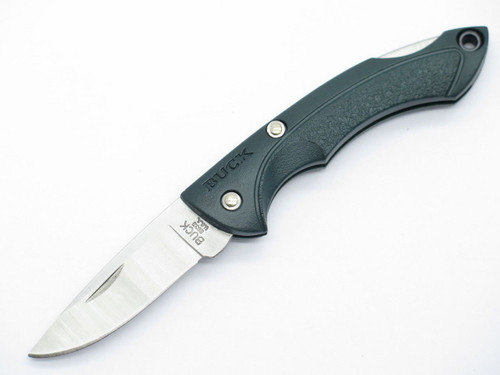 BUCK 283 NANO BANTAM DARK OLIVE GREEN SMALL MINI FOLDING LOCKBACK POCKET KNIFE