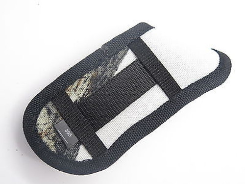 BUCK 395 OMNI HUNTER 10 PT WHITE CAMO NYLON FOLDING POCKET KNIFE SHEATH