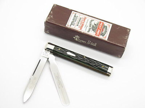 96 SCHATT MORGAN QUEEN 04296 CLASSIC DOCTOR PHYSICIAN FOLDING KNIFE & CASE
